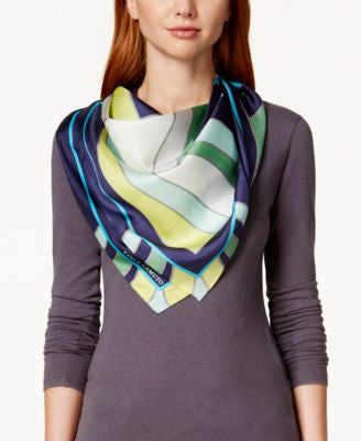 Vince Camuto Deco Darling Silk Square Scarf