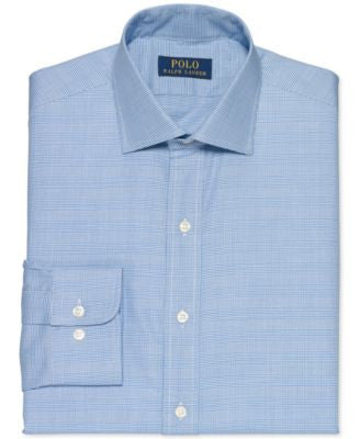 Polo Ralph Lauren Twill Glenplaid Dress Shirt