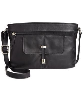 Giani Bernini Nappa Leather Belt Horizontal Crossbody, Only at Vogily