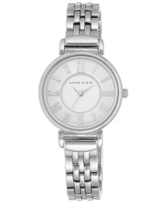 Anne Klein Women's Stainless Steel Bracelet Watch 30mm AK-2159SVSV