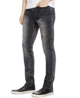 Kenneth Cole New York Black Wash Slim-Fit Jeans
