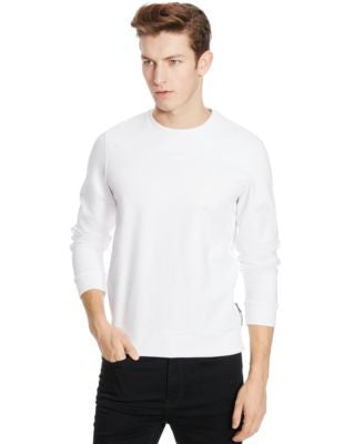 Kenneth Cole Reaction Tech Mesh Crew-Neck Sweatshirt