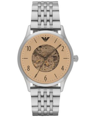 Emporio Armani Men's Automatic Beta Stainless Steel Bracelet Watch 41mm AR1922