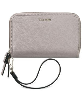 Nine West Table Treasure Double Zip Around Tech Wallet