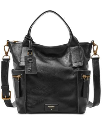 Fossil Emerson Medium Leather Satchel