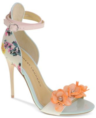 Chinese Laundry Lilly Two-Piece Flower Sandals