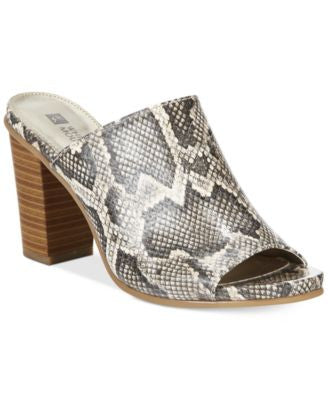 White Mountain Datenight Slide Mules