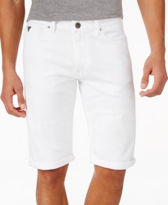 GUESS Men's Straight Leg Shorts
