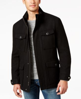 Marc New York Pressed Wool 4-Pocket Jacket