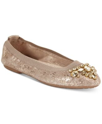 White Mountain Carella Embellished Flats