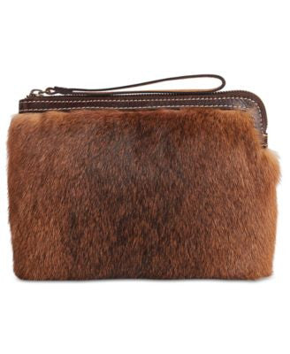 Patricia Nash Eclipse Fur Cassini Wristlet