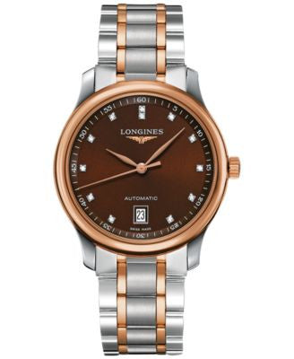 Longines Women's Swiss Automatic The Longines Master Collection Two-Tone Stainless Steel Bracelet Wa