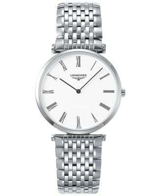 Longines Men's Swiss La Grande Classique De Longines Stainless Steel Bracelet Watch 36mm L47554116