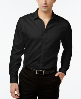 INC International Concepts Men's Jayden Non-Iron Shirt, Only at Vogily