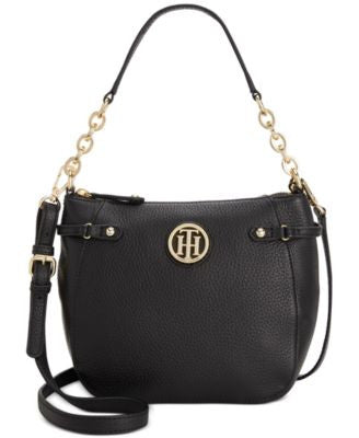Tommy Hilfiger Sadie Pebble Leather Crossbody