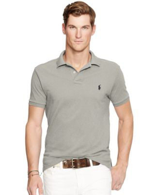 Polo Ralph Lauren Men's Slim-Fit Mesh Polo Shirt