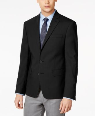 Ryan Seacrest Distinction Solid Slim Fit 2-Button Blazer, Only at Vogily