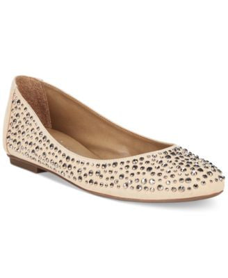 French Sole FS/NY Quench Embellished Flats