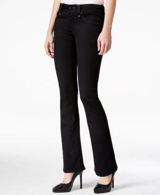 Rock Revival Celene Bootcut Black Wash Jeans, Only at Vogily