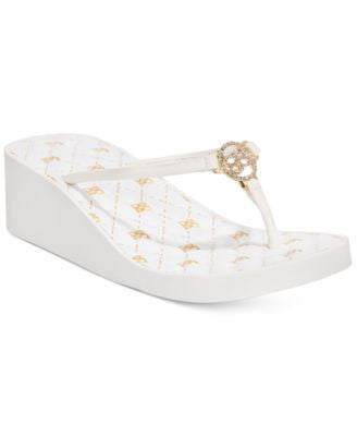 bebe Sport Rylie Wedge Sandals