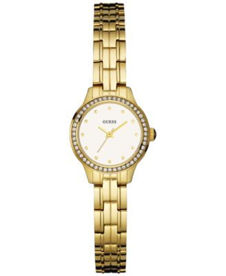 GUESS Women's Gold-Tone Stainless Steel Bracelet Watch 23mm U0693L2