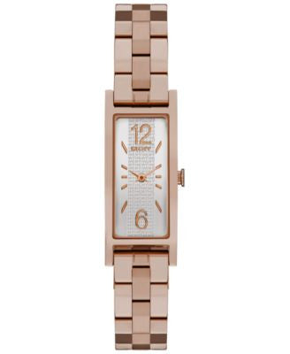 DKNY Women's Pelham Rose Gold-Tone Stainless Steel Bracelet Watch 16x30mm NY2429