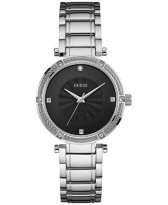 GUESS Women's Diamond Accent Stainless Steel Bracelet Watch 36mm U0695L1