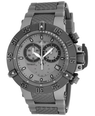 Invicta Men's Chronograph Subaqua Noma III Gray Stainless Steel Bracelet Watch 50mm 17214