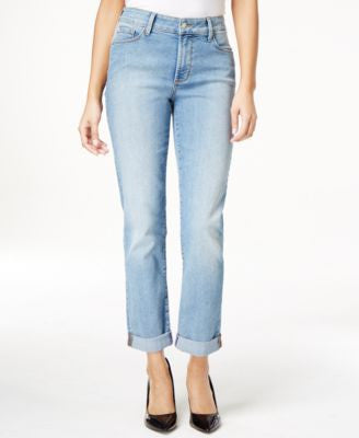 NYDJ Sylvia Boyfriend Earlington Wash Jeans