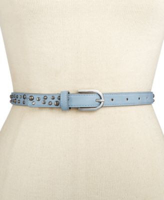 INC International Concepts Skinny Stud and Stone Belt, Only at Vogily