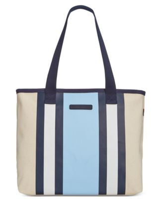 Tommy Hilfiger Natural TH Stripes Shopper