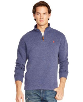 Polo Ralph Lauren Men's French-Rib Half-Zip Pullover