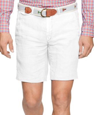 Polo Ralph Lauren Men's Straight-Fit Linen Bedford Shorts