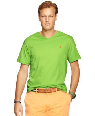 Polo Ralph Lauren Men's Big & Tall Classic-Fit Jersey V-Neck