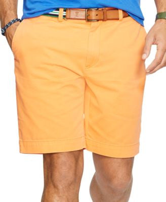 Polo Ralph Lauren Men's Big & Tall Classic-Fit Flat-Front Chino Shorts