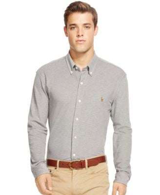 Polo Ralph Lauren Big & Tall Knit Oxford Shirt