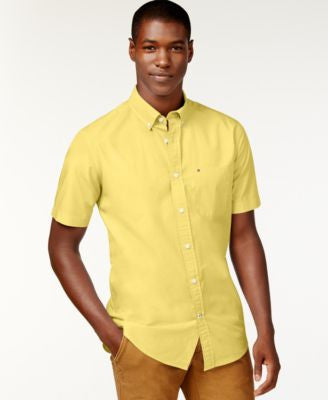 Tommy Hilfiger Maxwell Short-Sleeve Button-Down Shirt