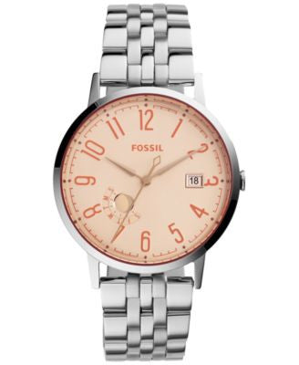 Fossil Women's Vintage Muse Stainless Steel Bracelet Watch 40mm es3957