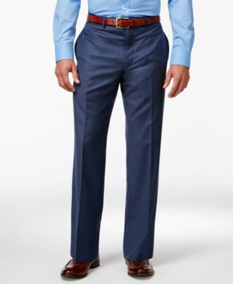 Calvin Klein Blue Slim-Fit Pants