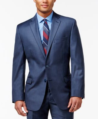 Calvin Klein Blue Slim-Fit Jacket