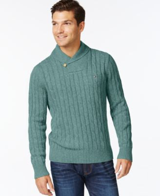Tommy Hilfiger Intercontinental Shawl Sweater, A Vogily Exclusive