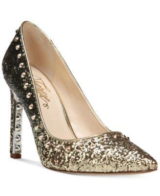 Fergie Helix Embellished Pumps