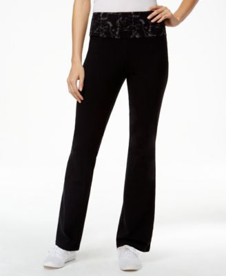 Style & Co. Tummy-Control Yoga Pants, Only at Vogily