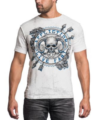 Affliction Men's Ramrod Live Fast T-Shirt