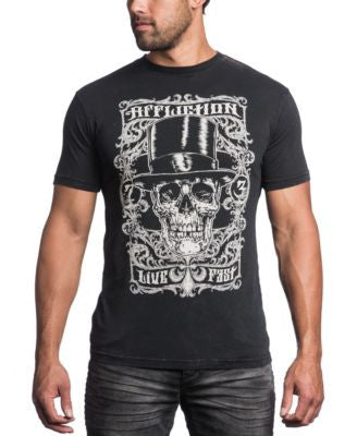 Affliction Men's Dracula's Fame T-Shirt