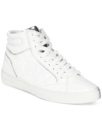 MICHAEL Michael Kors Paige Quilted High Top Sneakers