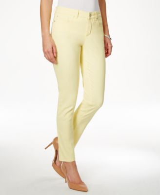 Charter Club Petite Skinny Lemon Tart Wash Jeans, Only at Vogily