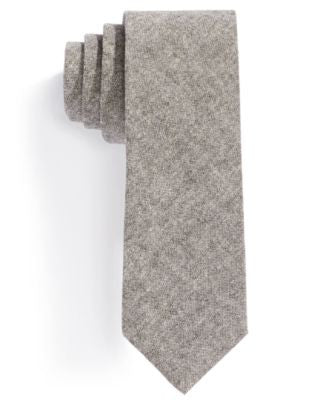Penguin Coco Chambray Solid Skinny Tie