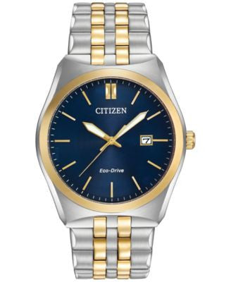 Citizen Women's Eco-Drive Two-Tone Stainless Steel Bracelet Watch 40mm BM7334-58L