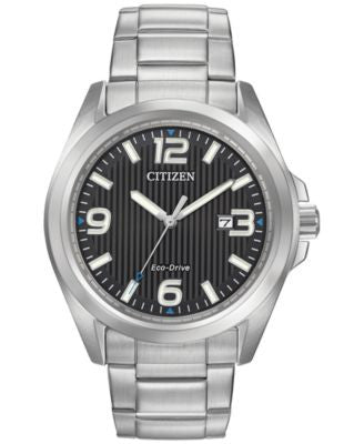 Citizen Women's Eco-Drive Stainless Steel Bracelet Watch 43mm AW1430-86E